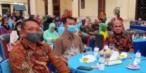 Acara Pisah Sambut Danlanud Raden Sadjad Ranai